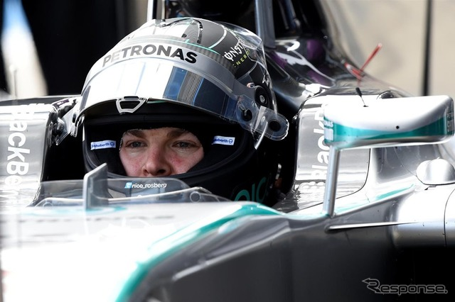 Nico Rosberg to test at Jerez in new car ( W05)