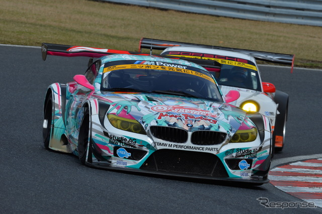 BMW Z4 series in SUPER GT GT300 ( photos: 2013 season )