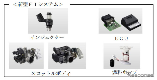 Keihin and small motorcycles for new system