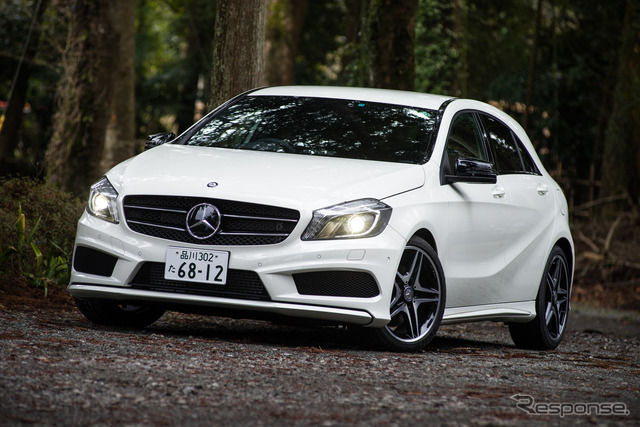 Mercedes-Benz A 180 BlueEFFICIENCY olahraga
