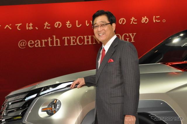 President Osamu Masuko Mitsubishi (Tokyo Motor Show 13)