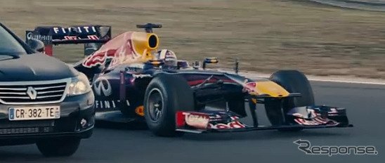 Renault F1 special movie (video capture)