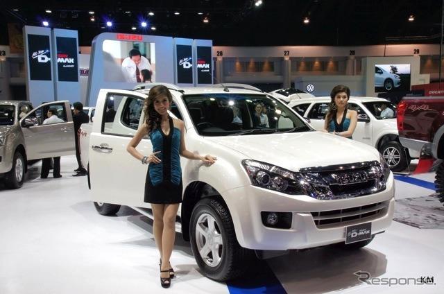 Isuzu booth (12 Bangkok motor show)