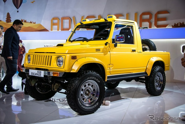 Suzuki Gypsy Escapade at 2014 Delhi Motor Show