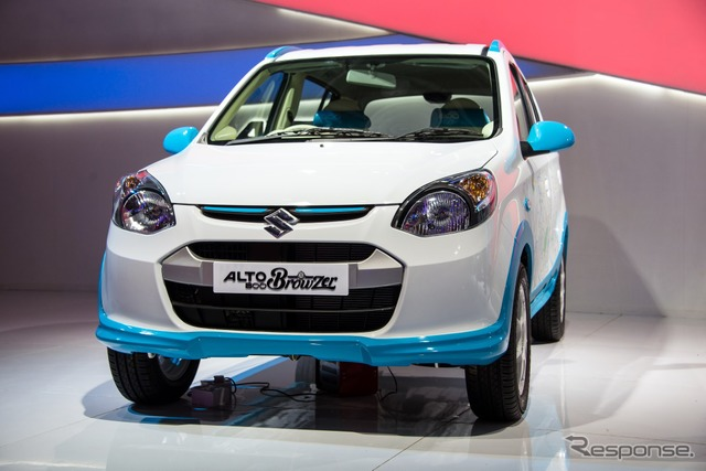 Suzuki Alto800 Browzer at 2014 Delhi Motor Show