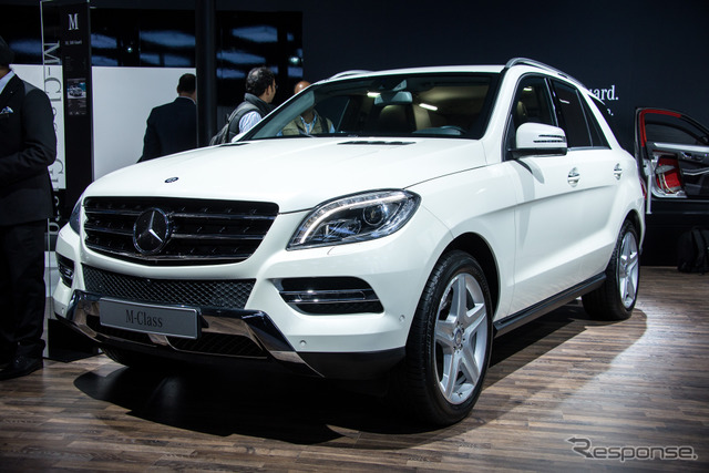 Guard Mercedes-Benz ML500 (Delhi Motor Show 14)