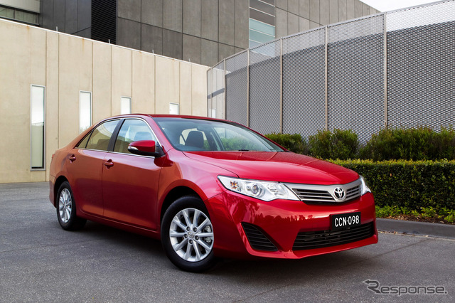 New Toyota Camry (the Australia type