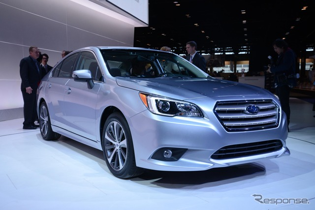 New Subaru Legacy (2014 Chicago Auto Show)