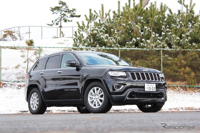 Grand Jeep Cherokee terbatas