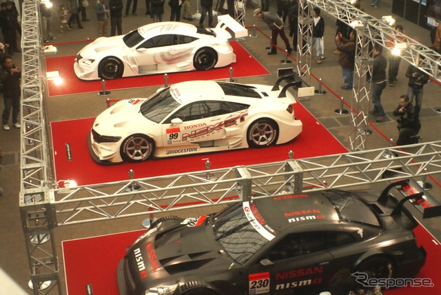 Super GT at 2014 Osaka Auto Messe