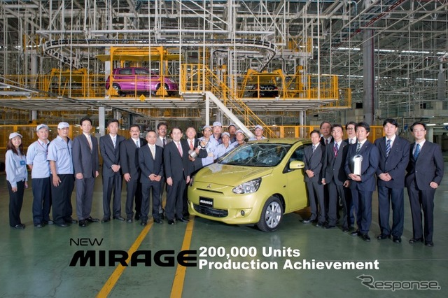 Mirage, total production of 200000 units achieved