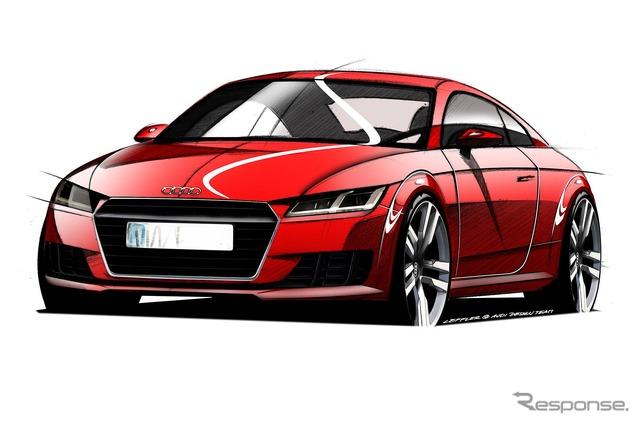 ร่างประกาศของ TT Audi ใหม่