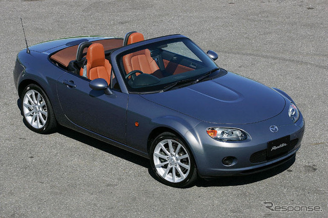 "[Mazda Roadster new model announcement] engine power 170 PS "" low """
