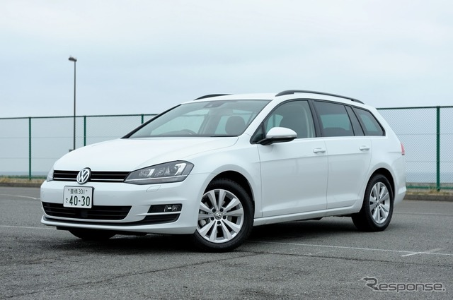 VW Golf variant comfort line (JAIA ride 14)