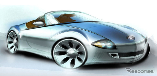 [Frankfurt Motor Show-05]: Daihatsu's hybrid sports
