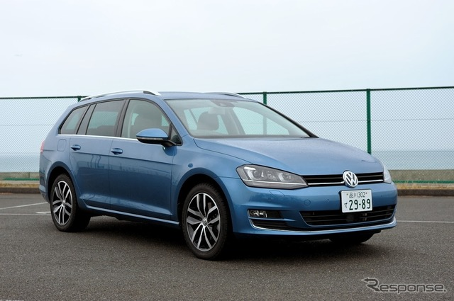 VW Golf variant Highline (JAIA test ride society)