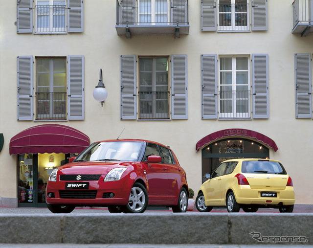 Suzuki Swift (European spec)