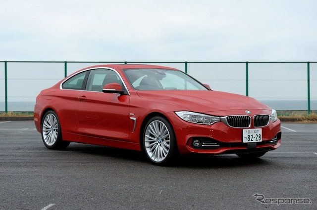 BMW 428i Coupe (JAIA test ride society)