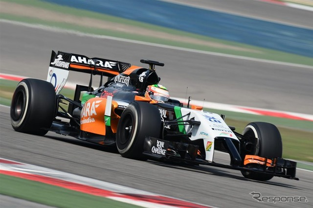 Force India VJM07 Sergio Perez