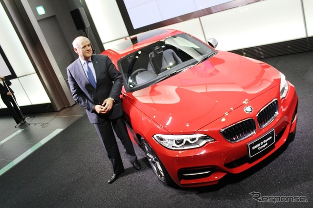 B m w ( BMW Group Japan ) President Alan Harris