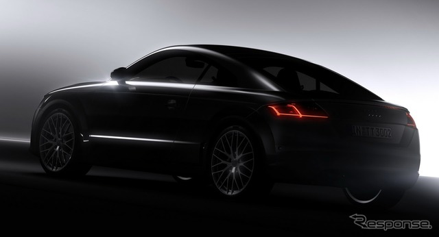 Subject image of the new Audi TT