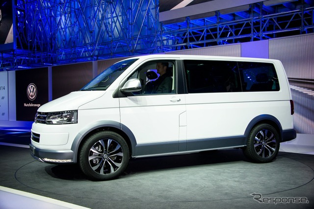Volkswagen multivan-all tracks (14 Geneva Motor Show)