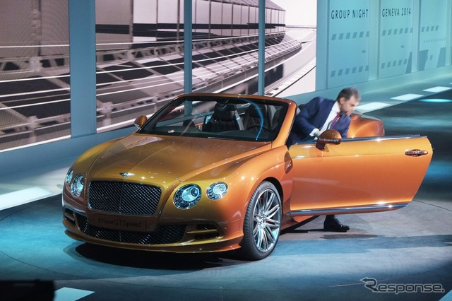 Bentley Continental GT speed 2014 models (Geneva Motor Show 14)
