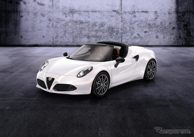 Alfa Romeo 4 c spider design preview