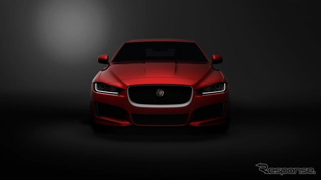 Jaguar's new sedan, XE notice images