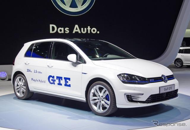 فولكس فاجن غولف GTE (معرض السيارات جنيف 14)