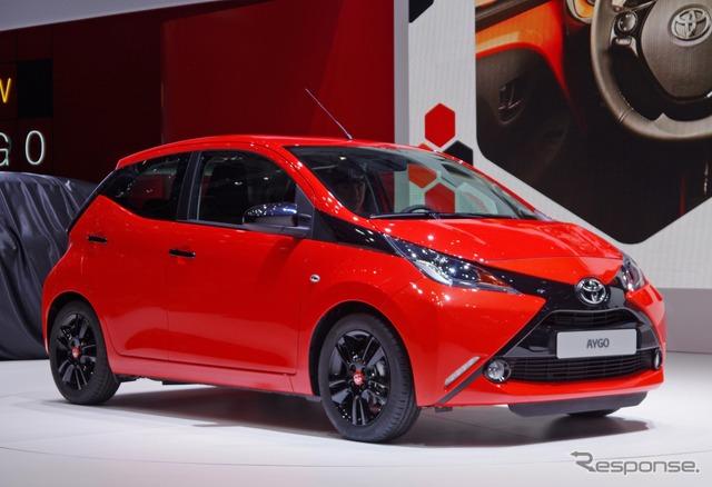 Toyota aygo (Geneva Motor Show 14)