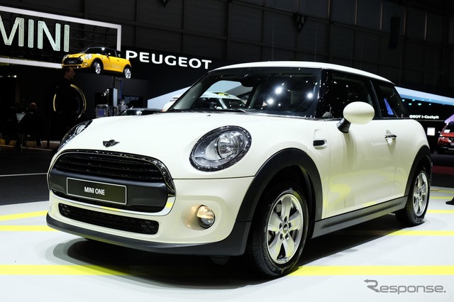One of the new MINI hatchback grade (Geneva Motor Show 14)