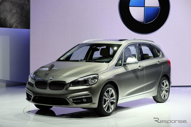 BMW 2 series active tourer (Geneva Motor Show 14)
