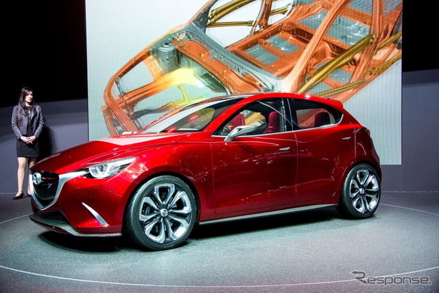 Mazda Hazumi at the 2014 Geneva Motor Show