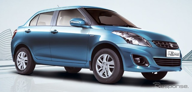 4-door sedan of the Suzuki Swift and Dzire