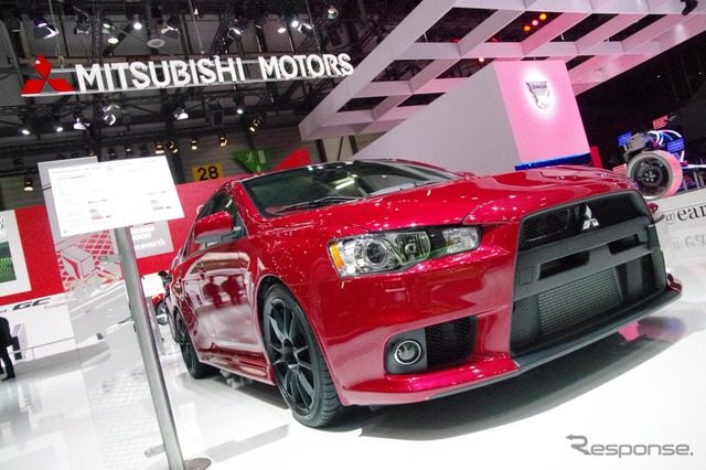 Mitsubishi Lancer Evolution X GSR Final Edition (Swiss version) 2014 Geneva Motor Show