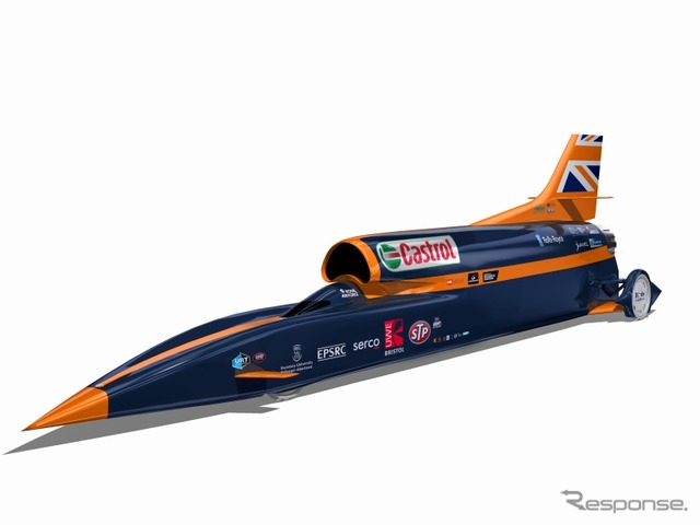 Bloodhound Super Sonic car (SSC)