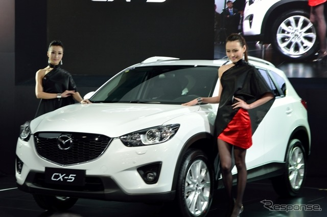 How Mazda, press conference (Shanghai motor show 13)