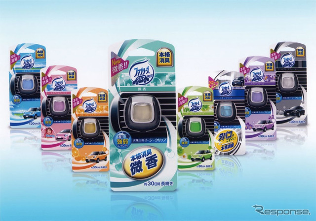 P & G, Febreze car easy clip fine incense types