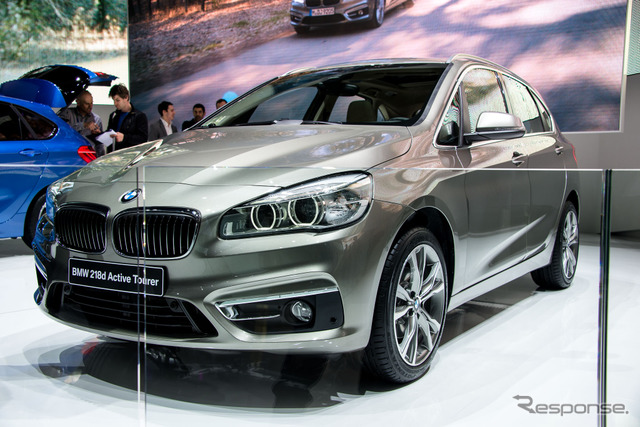 BMW-series 2 active tourer (Geneva Motor Show 14)