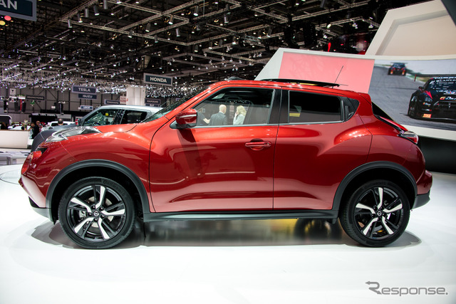 New and improved Nissan Juke (2014 Geneva Motor Show)