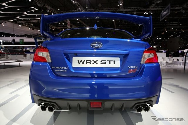 New Subaru WRX STI, European Specifications (2014 Geneva Motor Show)