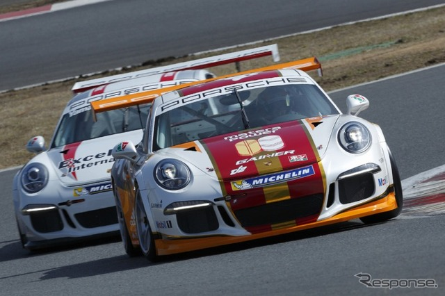 Porsche Carrera Cup Japan-test