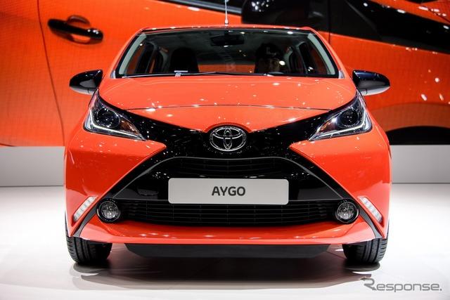 Toyota Aygo at 2014 Geneva Motor Show