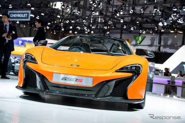 McLaren-650 S Spyder (14 Geneva Motor Show)
