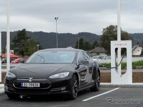 Tesla's supercharged ( Norway )
