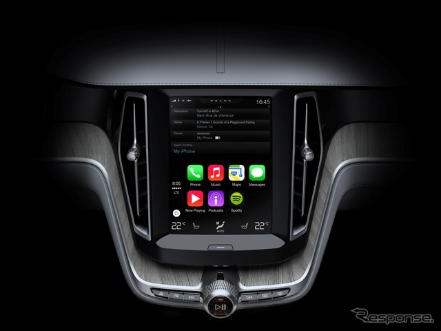 Next to adopt 'CarPlay' Apple (Apple), Volvo XC90.