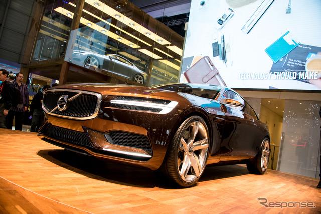 Volvo concept estate (Geneva Motor Show 14)