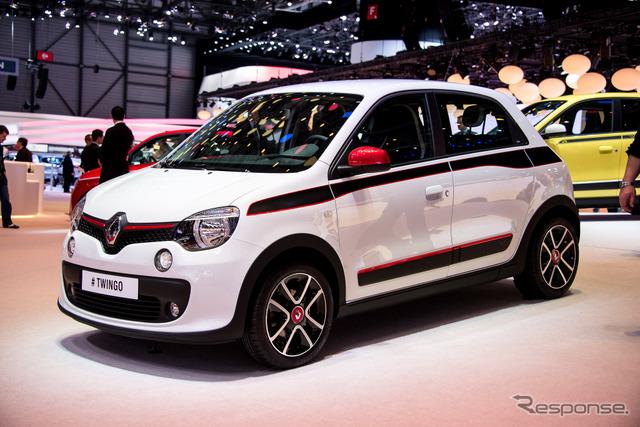 Renault new Twingo (Geneva Motor Show 14)