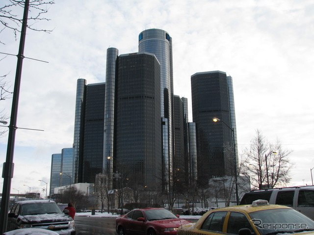 GM headquarters building